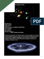 Notes Du Système Solaire Et l'Univers