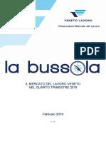 Bussola di Veneto Lavoro, febbraio 2019