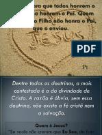 A Pessoa de Jesus - p1
