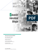 Educ. Intercult. Bilingüe