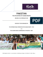 FIDH and HRCP advocacy presentation brief 25-26 February 2019
