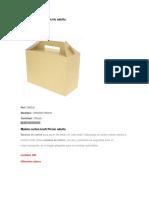 Caja de Utiles y Pelotas de Colores