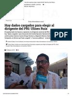 18.02.19 Hay Dados Cargados Para Elegir Al Dirigente Del PRI