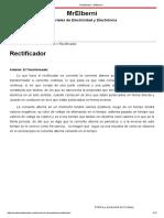 Rectificador Puente Diodos - MrElberni