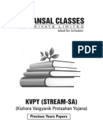 KVPY_2009-15_PAPERS.pdf