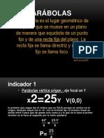Parabolas Josue Antonio Prieto Olivares MAHE 309