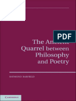 Barfield, The Ancient Quarrel Between Philosophy and Poetry, CUP 2011.pdf