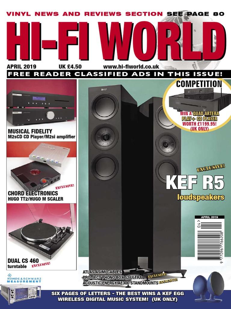 97a3cb23340 Hi-Fi_World_-_April_2019.pdf | Loudspeaker | Phonograph