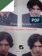 """Flavio Sciolè, """"Nel Disincanto Asociale"""", Maldoror Press (2019)"""