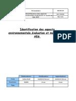 HSE-FR-03-00 Analyse Environnemental V00