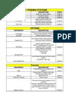 Price List PLCTraining