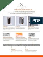 GeoCore X10 Product Sheet 2017-08-01