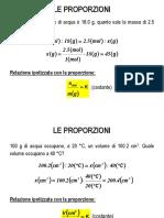 Le Proporzioni (1)