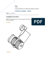 Differentials and Pinion Assemblies - Install