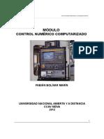 Modulo Control Numerico Computarizado