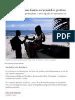 Aprenda Las Palabras Básicas Del Español en Garífuna - Diario La Prensa
