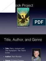 book project percy jackson and the olympians  the titans curse pdf
