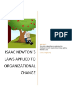 PEP-Newton and Organizational Change