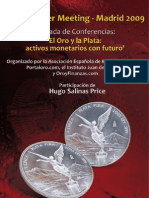 HUgo Salinas Price El Oro y La Plata Activos Monetarios Con Futuro