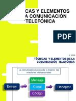 tecnicas de comunicacion telefonica
