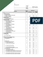 List Daftar Pekerjaan Pembangunan Rumah 1 Lantai (untuk digunakan dalam latihan Ms Project)