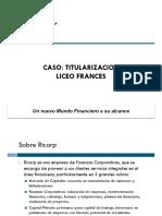 Titularizacion Liceo Frances
