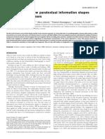 Altman-Fact vs Fiction How Paratextual Information Shapes