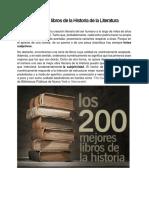 Los 200 mejores libros de la Historia de la Literatura.docx