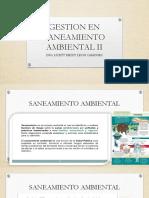 Gestion en Saneamiento Ambiental II (1)