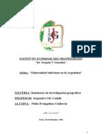 tesina geografia ,...doc