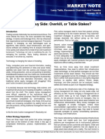 V17-006 the Multi-Asset Buy Side Overkill or Table Stakes Final
