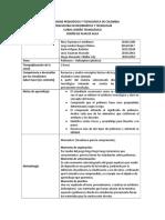 Diseño de Plan de Aula - Polímeros - Con Recomendaciones