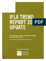 Library Trend Report IFLA - 2016