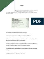 Ejercicio de Costos Resuelto Actividad 3 y 4