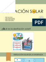 Destilacion Solar