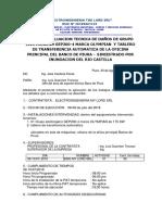 Infor Tecnico de Daños de Grupo Elec Siniestrado Banco de Piura s