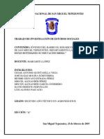 JÓVENES DEL BARRIO EL ROSARIO DEL MUNICIPIO DE SAN MIGUEL TEPEZONTES, QUE NO ESTÁN ESTUDIANDO.docx
