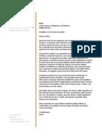 7 Carta de Presentacion Design