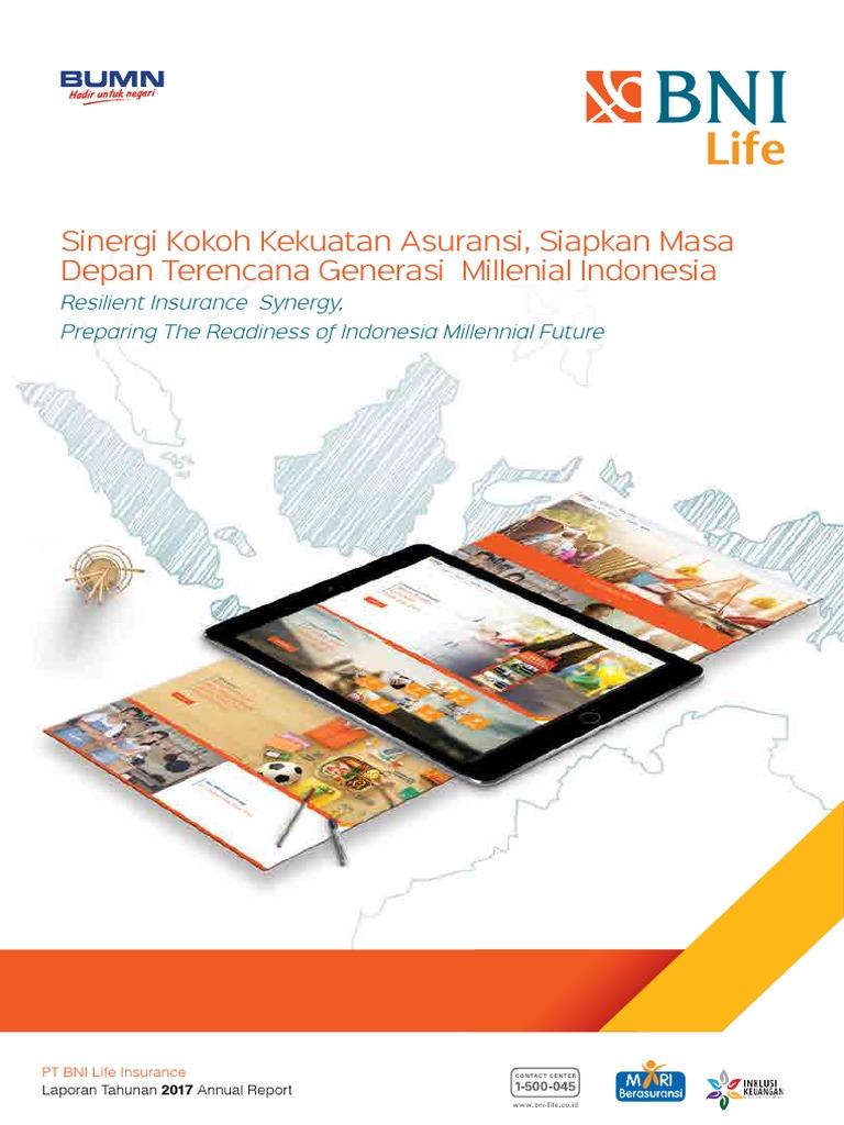 Annual Report Bni Life 2017 Pdf