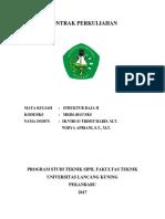 Kontrak Perkuliahan Baja II 2017