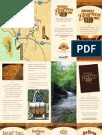 Bourbon Trail Brochure
