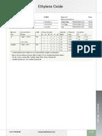 Ethylene Oxide Gas Mixtures Spec Sheet Ss p180464 p180100 p180545