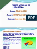 Tema 5 - MATERIA ORGANICA.ppt