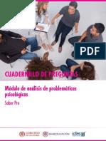 Cuadernillo de preguntas analisis de problematicas psicologicas Saber Pro 2018.pdf