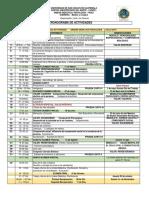 0. Cronograma de Actividades MC 431 Psico 2019