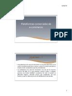 Plataformas Web Ecommerce