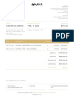Invoice Order Id 168540