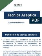 técnica aseptica