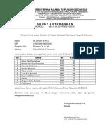 Surat Keterangan Benar2 Pesdik 2018 (Kolektif)