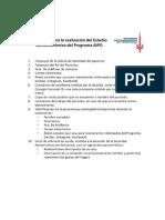 Requisitos Para Estudio Socio Económico Del Programa AIPO de la Sociedad Anticancerosa
